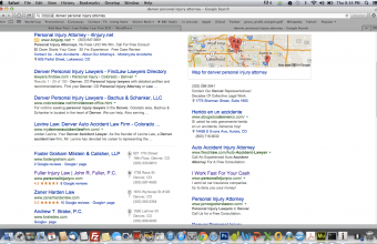 organic and paid search returns