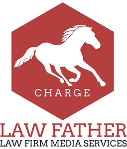 The Logo For the Denver and Portland Attorney Digital Marketing Firm, Law Father