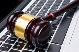 Trial Support is Critical for Attorneys   Gavel on Laptop