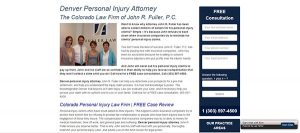 Denver Car Accident Attorney John R. Fuller